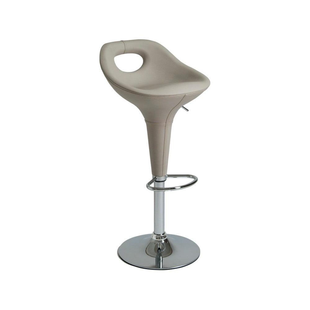Sada 2 krémových otočných barových židlí Global Trade