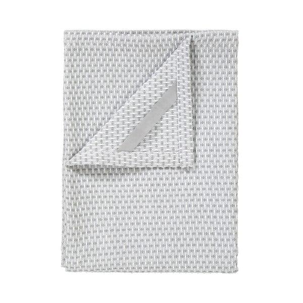 Sada 2 světle šedých bavlněných utěrek na nádobí Blomus Pattern, 50x70cm