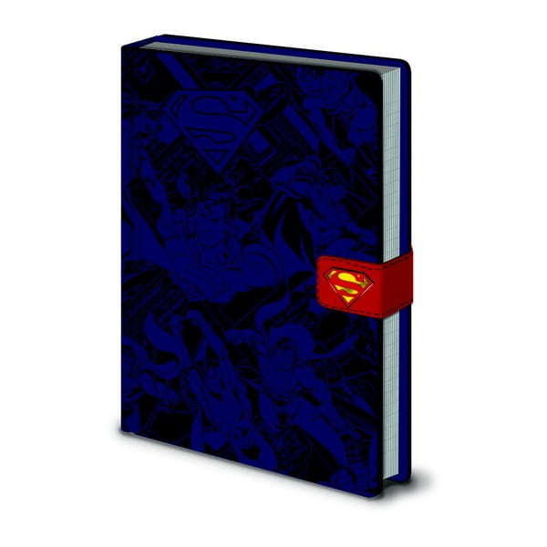 DC Comics: Superman jegyzetfüzet, A5, 120 oldal - Pyramid International