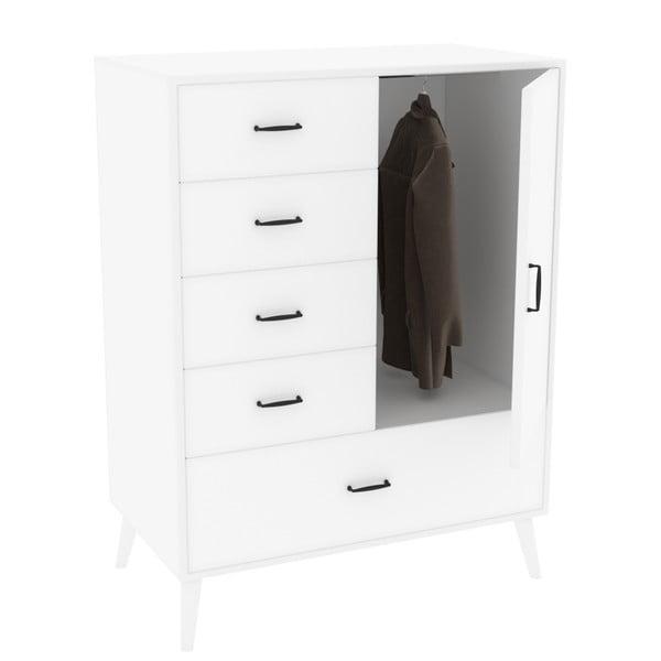 Zevait fehér ruhásszekrény