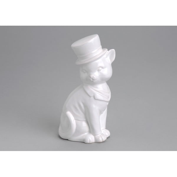 Dekorace White Cat Hat