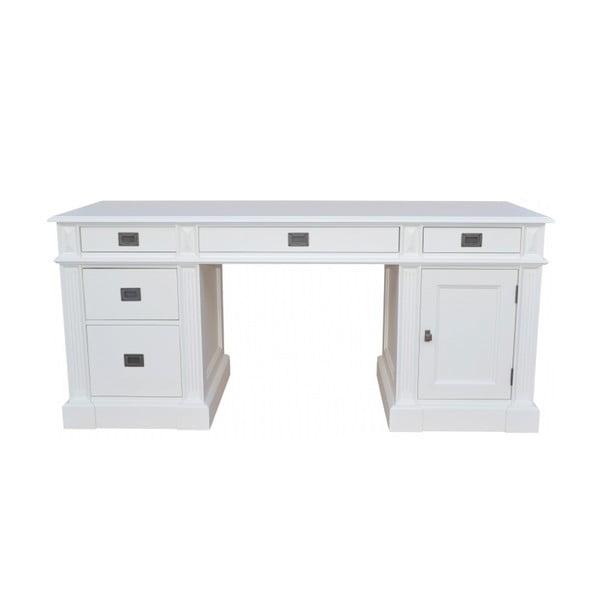 Psací stůl Classical White, 180x70 cm