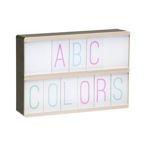 Světelný box se 105 znaky Fisura Numeros & Letras