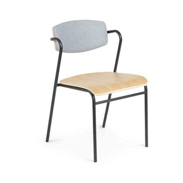 Jídelní židle v dekoru dubového dřeva La Forma Zaha
