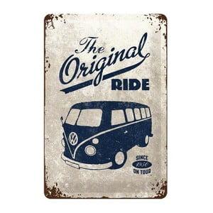 Plechová cedule The Original Ride, 20x30 cm