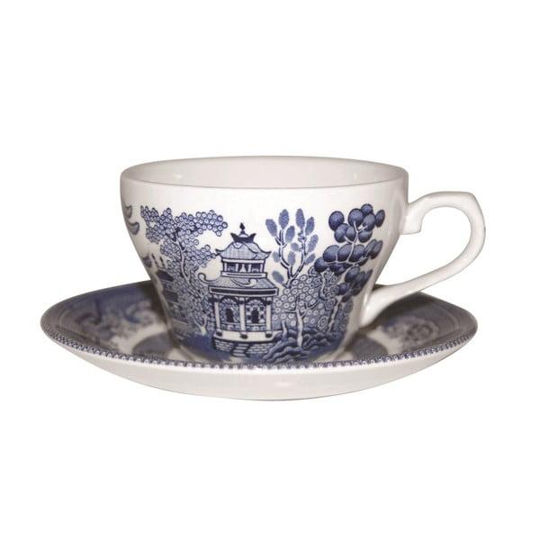 Sada nádobí Churchill China Blue Willow, 20 ks