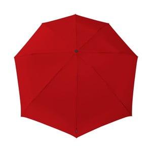 Červený větruodolný deštník Ambiance Aerodynamic Red