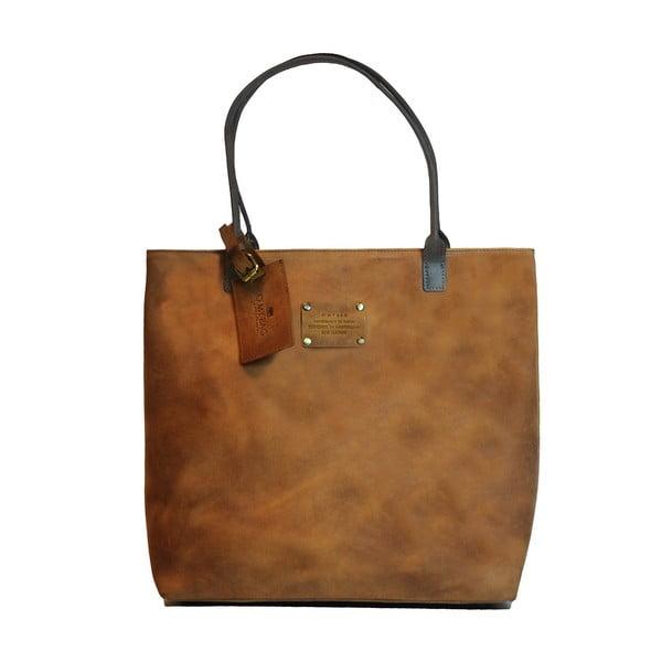 Kožená vintage taška Posh Stacey, velbloudí