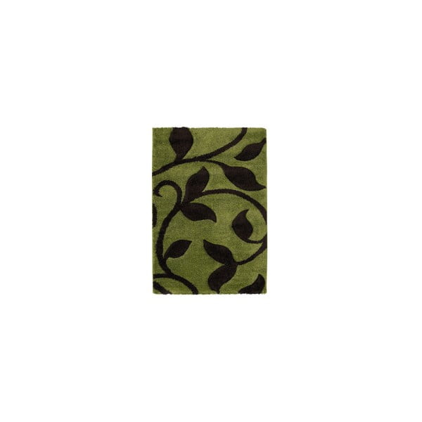 Koberec Fashion Green Brown, 80x150 cm