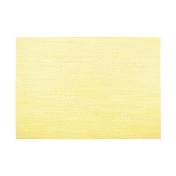 Żółta mata stołowa Tiseco Home Studio Melange Triangle, 30x45 cm