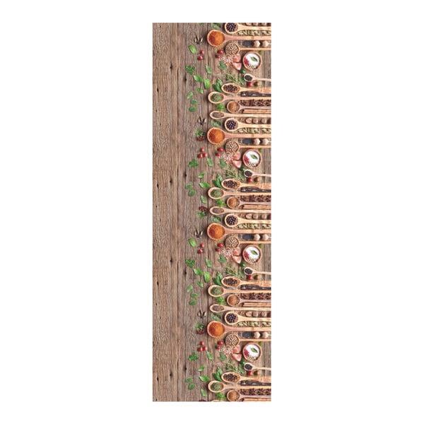 Covor foarte rezistent Webtappeti Mestoli, 58 x 190 cm