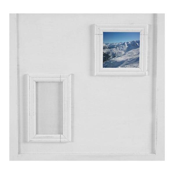 Paravan Picture Frames White, 161x170 cm
