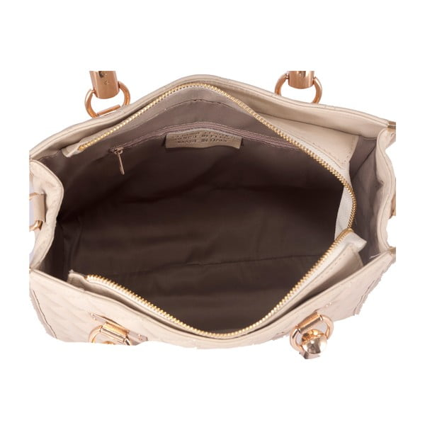 Kožená kabelka Andrea Cardone 2005 Beige