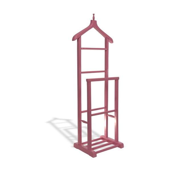 Němý sluha Pink Double Vale, 50x35x130 cm