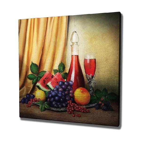 Vine vászon fali kép, 45 x 45 cm