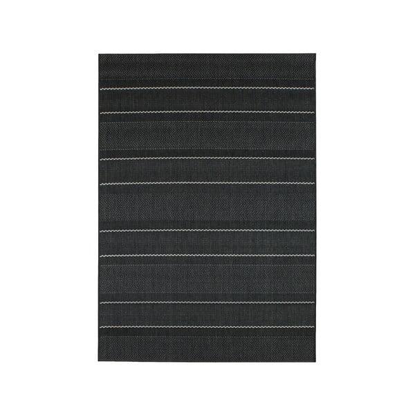 Koberec vhodný i do exteriéru Patio Charcoal, 160x230 cm