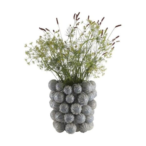Kameninová váza A Simple Mess Melfi Ballad Blue, ⌀30cm