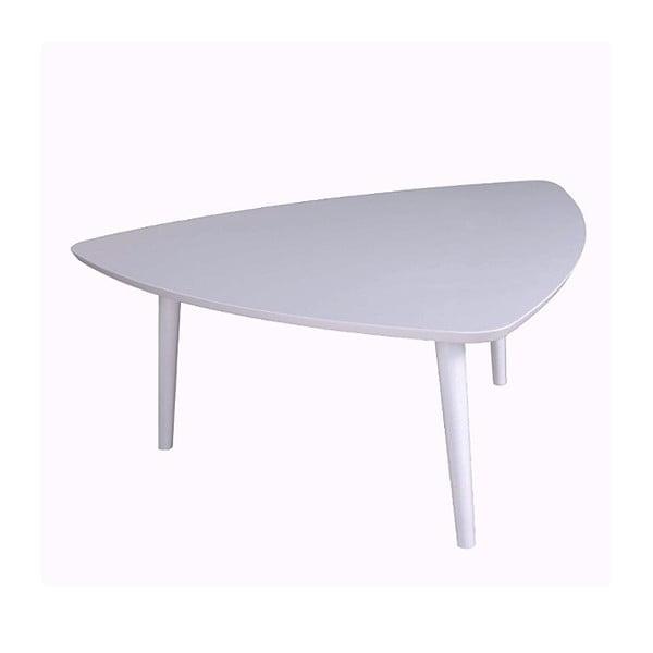 Bílý příruční stolek Durbas Style Trio