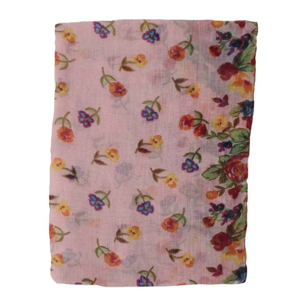 Šátek Pink Flowers
