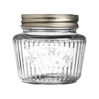 Borcan din sticlă și capac cu înfiletare Kilner, 0,25 l imagine