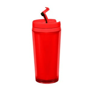 Lahev na teplé nápoje Zak 400 ml, červená