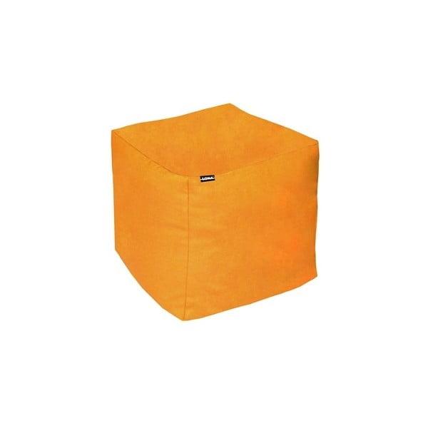 Sedací puf Lona, oranžový