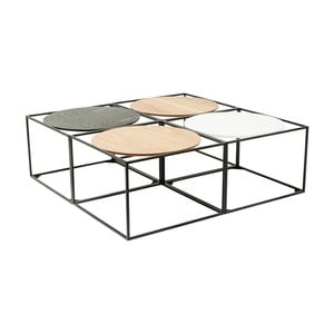 Sada 4 konferenčních stolků Kare Design Quattro