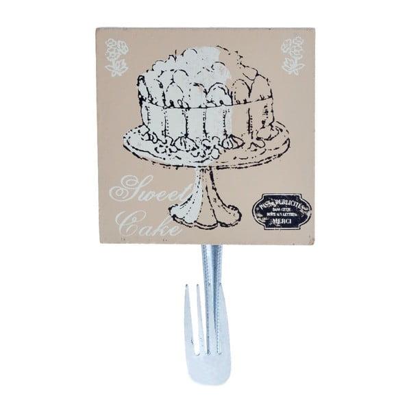 Dřevěný háček Cake