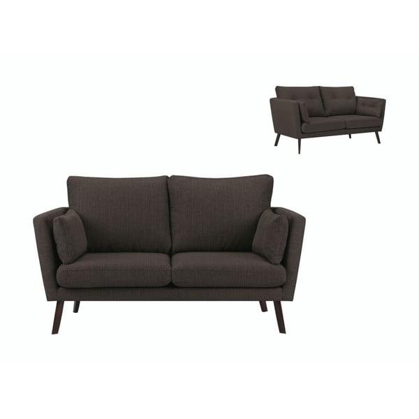 Canapea cu 2 locuri Mazzini Sofas Elena, maro