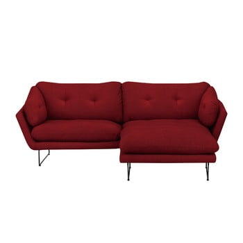 Set canapea cu taburet Windsor & Co Sofas Comet roşu