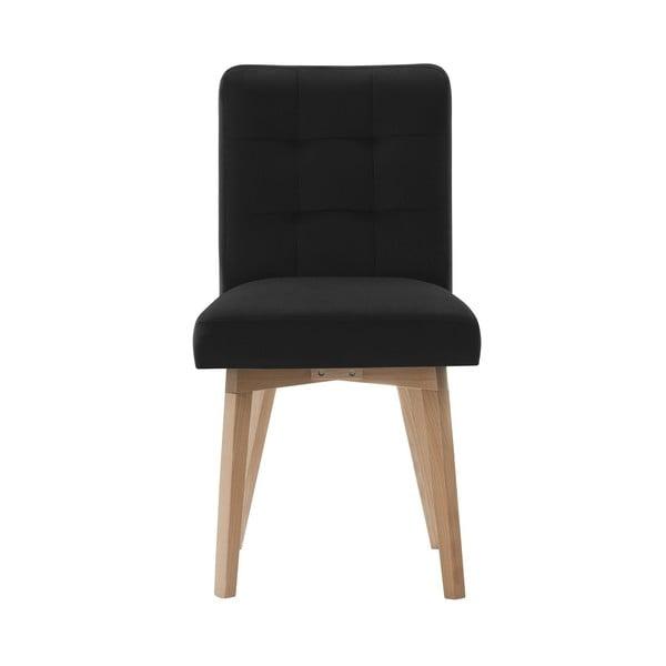 Černá jídelní židle Rodier Haring