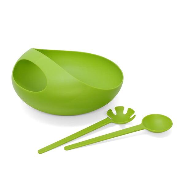 VÝROBA UKONČENA - Salátová mísa, zelená