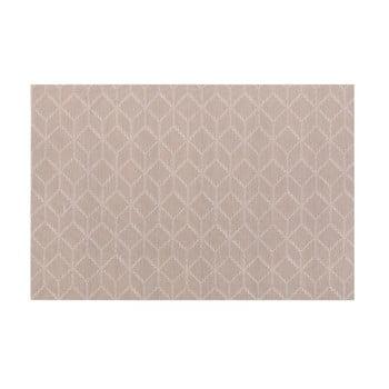 Șervet decorativ Tiseco Home Studio Cubes, 45 x 30 cm, maro gri imagine