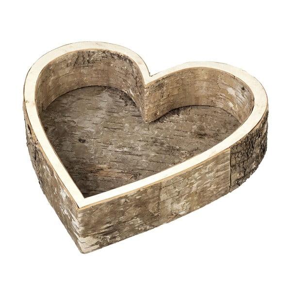 Podnos Birch Heart, 28 cm