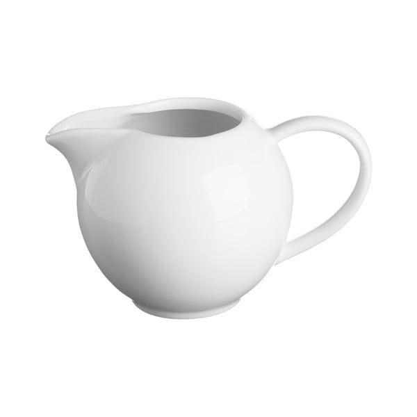 Biela kanvička na mlieko z porcelánu Price&Kensington Simplicity