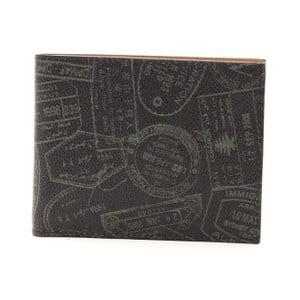 Černá dámská kožená peněženka Alviero Martini Basso Mento