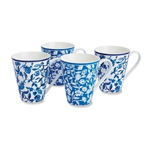 Set 4 căni Cooksmart England Secret Garden, 350 ml