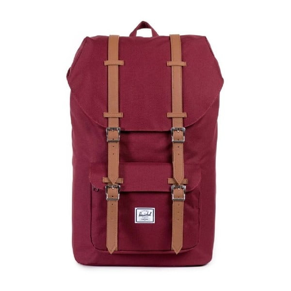 Czerwony plecak Herschel Little America, 25 l