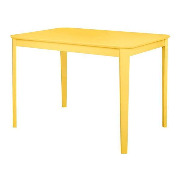 Trento sárga étkezőasztal, 110 x 75 cm - Støraa