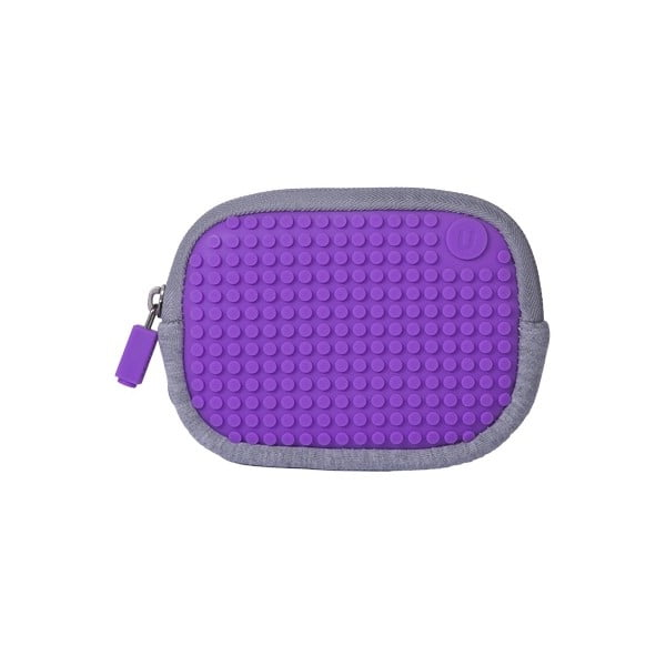 Pixelové univerzální pouzdro, grey/purple