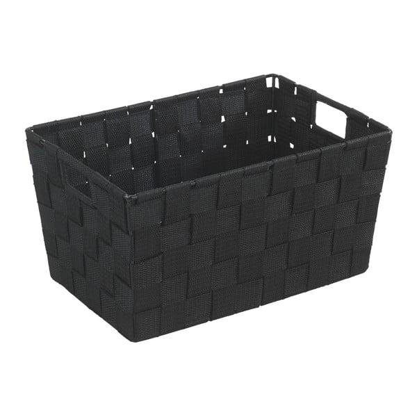 Czarny koszyk Wenko Adria, 20x30 cm