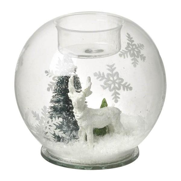 Skleněné sněžící těžítko Parlane Deer