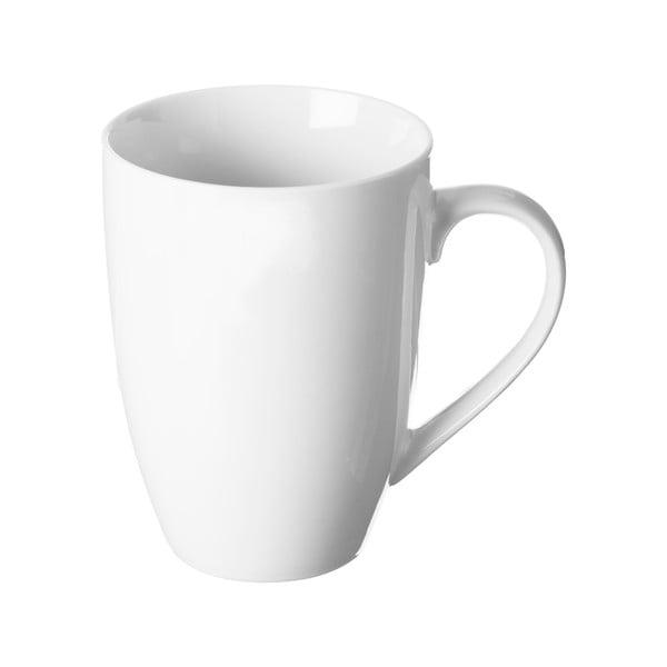 Bílý porcelánový hrnek Price&Kensington Simplicity Barrel,375ml
