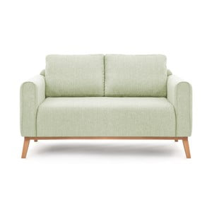 Canapea cu 2 locuri Vivonita Milton, verde mentă