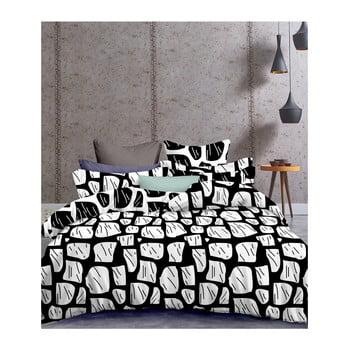 Lenjerie de pat din microfibră DecoKing Basic Hypnosis Brokenglass, 135 x 200 cm de la DecoKing