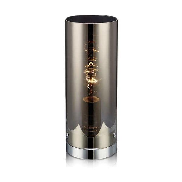 Stříbrná stolní lampa Markslöjd Storm, 12cm