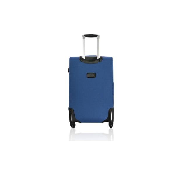 Sada 3 cestovních zavazadel Valises Avec Poly Blue