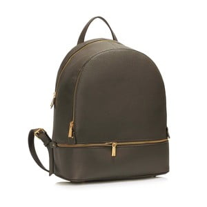 Šedý batoh L&S Bags School