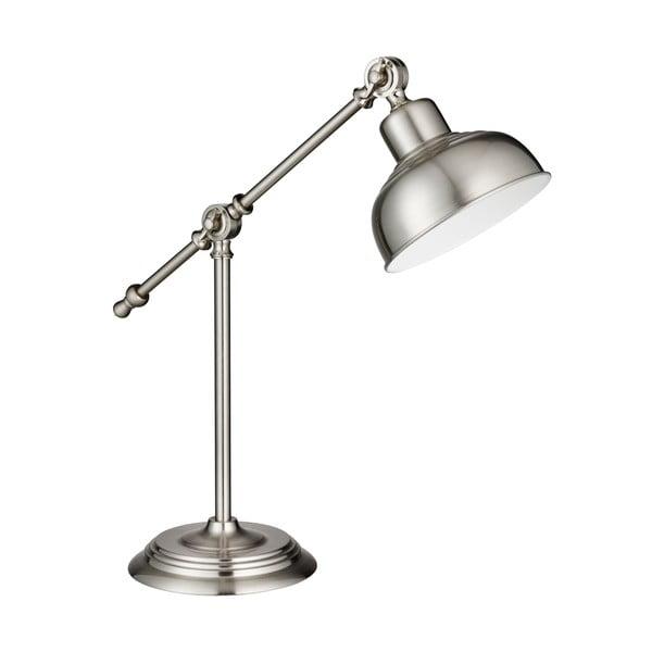 Stolní lampa Macbeth, stříbrná