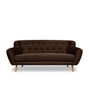Canapea cu 3 locuri Cosmopolitan design London maro
